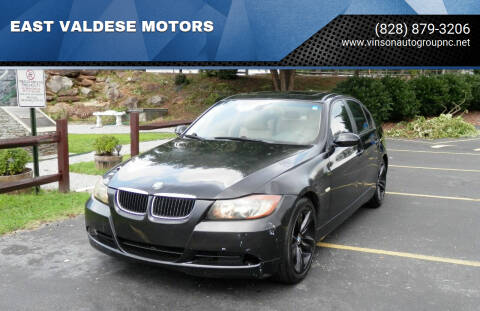 2007 BMW 3 Series for sale at EAST VALDESE MOTORS / VINSON AUTO GROUP in Valdese NC