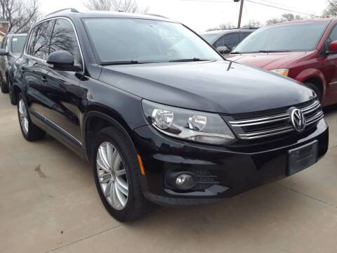 2012 Volkswagen Tiguan for sale at Auto Haus Imports in Grand Prairie TX