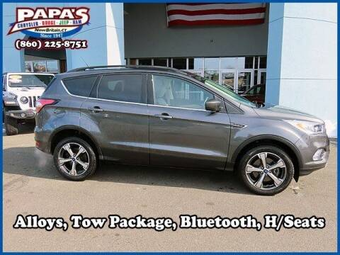 2018 Ford Escape for sale at Papas Chrysler Dodge Jeep Ram in New Britain CT