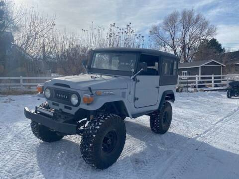 1974 Toyota Land Cruiser for sale at Classic Car Deals in Cadillac MI