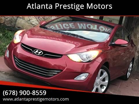 2012 Hyundai Elantra for sale at Atlanta Prestige Motors in Decatur GA
