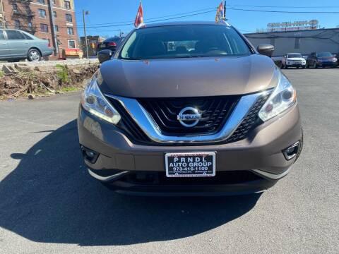 2017 Nissan Murano for sale at PRNDL Auto Group in Irvington NJ