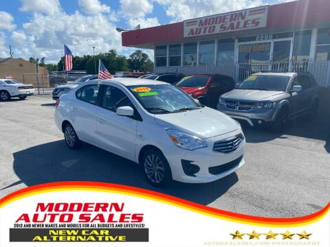 2018 Mitsubishi Mirage G4 for sale at Modern Auto Sales in Hollywood FL