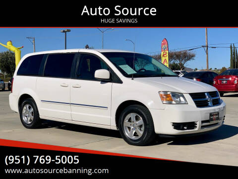 2008 Dodge Grand Caravan for sale at Auto Source in Banning CA