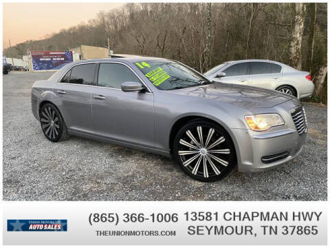 2014 Chrysler 300 for sale at Union Motors in Seymour TN