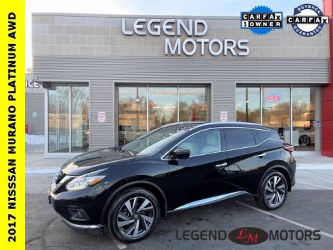 2017 Nissan Murano for sale at Legend Motors of Detroit - Legend Motors of Waterford in Waterford MI