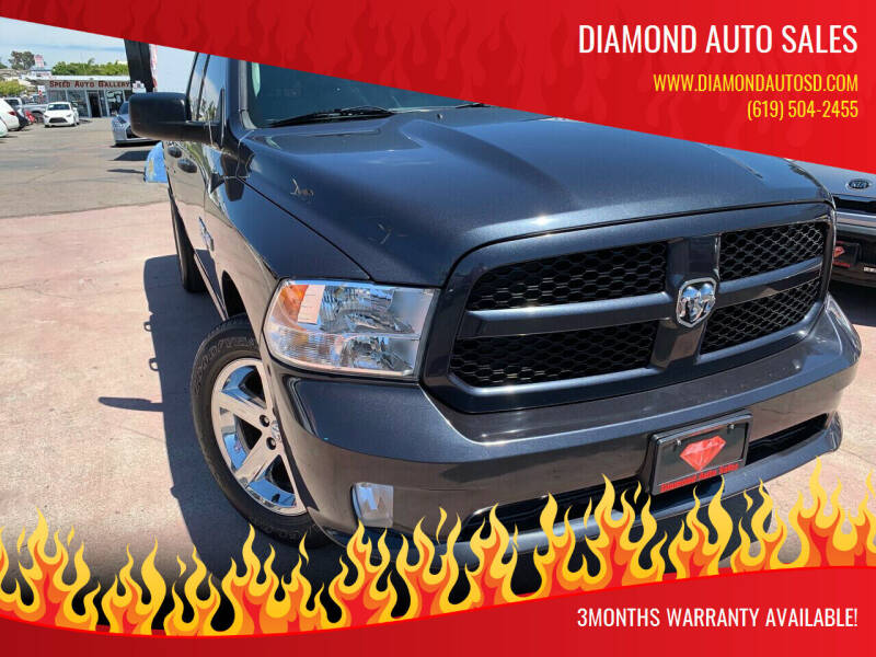 2015 RAM Ram Pickup 1500 for sale at DIAMOND AUTO SALES in El Cajon CA