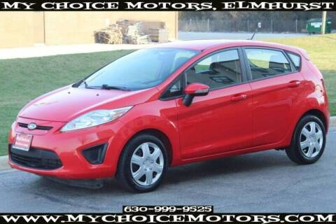 2013 Ford Fiesta for sale at My Choice Motors Elmhurst in Elmhurst IL