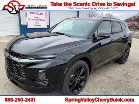 2021 Chevrolet Blazer for sale at Spring Valley Chevrolet Buick in Spring Valley MN