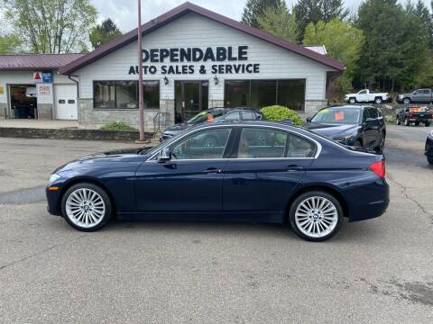 2014 BMW 3 Series for sale at Dependable Auto Sales and Service in Binghamton NY