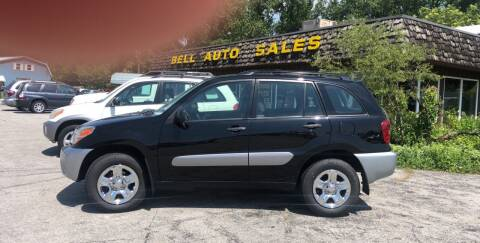 2005 Toyota RAV4 for sale at BELL AUTO & TRUCK SALES in Fort Wayne IN