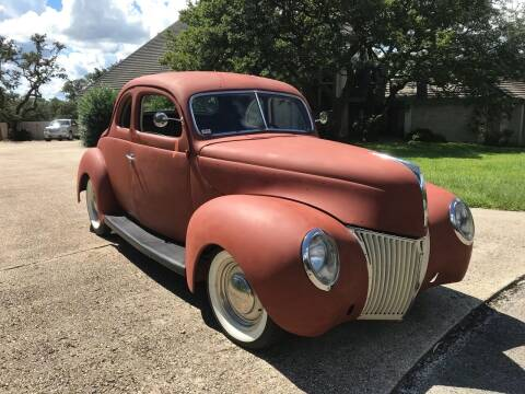 1939 Ford Deluxe for sale at Mafia Motors in Boerne TX