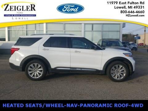 2020 Ford Explorer for sale at Zeigler Ford of Plainwell- michael davis in Plainwell MI