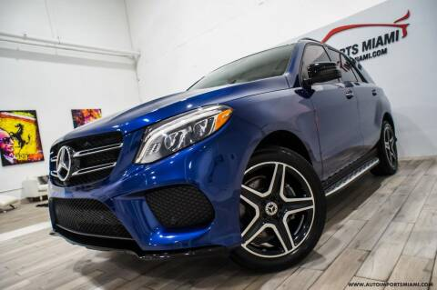 2018 Mercedes-Benz GLE for sale at AUTO IMPORTS MIAMI in Fort Lauderdale FL