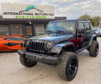 2007 Jeep Wrangler Unlimited for sale at International Motors Inc. in Nashville TN