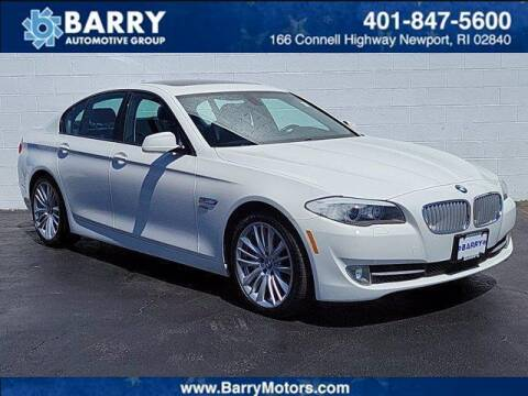 2011 BMW 5 Series for sale at BARRYS Auto Group Inc in Newport RI