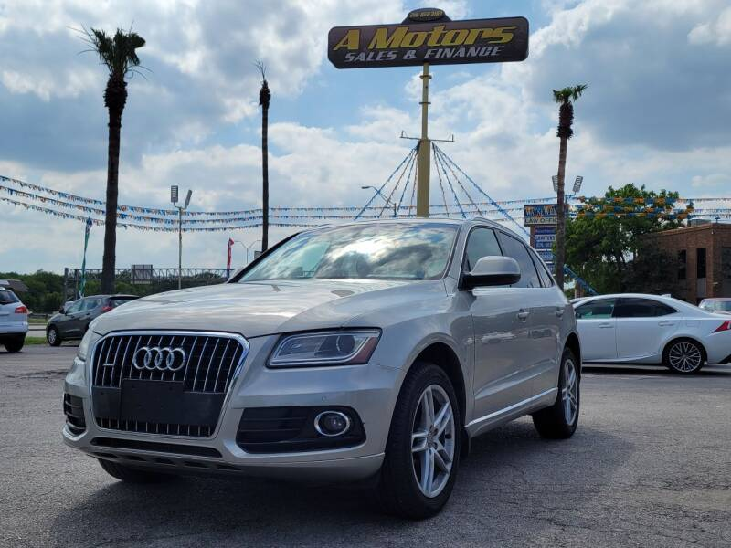 2013 Audi Q5 for sale at A MOTORS SALES AND FINANCE in San Antonio TX