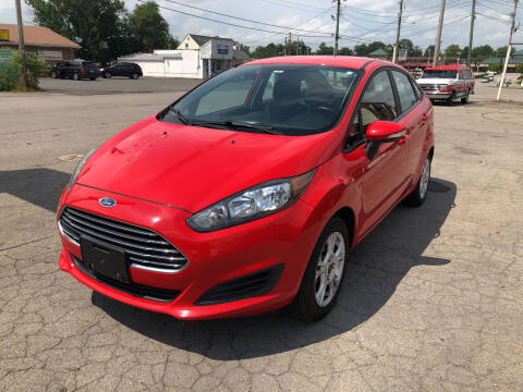 2015 Ford Fiesta for sale at Neals Auto Sales in Louisville KY