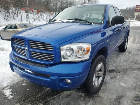 2007 Dodge Ram Pickup 1500 for sale at Mulligan's Auto Exchange LLC in Paxinos PA