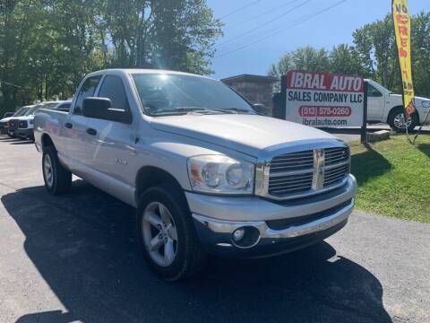 2008 Dodge Ram Pickup 1500 for sale at Ibral Auto in Milford OH