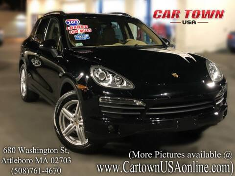 2013 Porsche Cayenne for sale at Car Town USA in Attleboro MA
