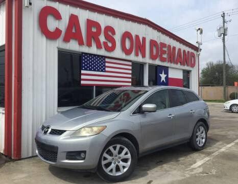 2007 Mazda CX-7 for sale at Cars On Demand 3 in Pasadena TX