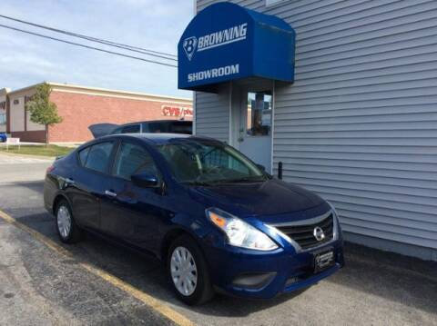 2019 Nissan Versa for sale at Browning Chevrolet in Eminence KY