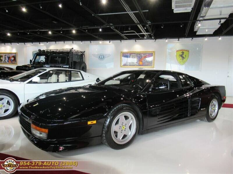 1990 Ferrari Testarossa for sale at The New Auto Toy Store in Fort Lauderdale FL