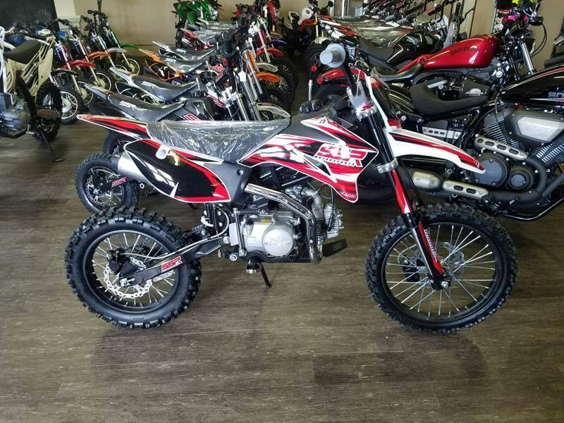 2021 SSR SR125TR-BW for sale at Toy Barn Motors - Dirt Bikes in New York Mills MN
