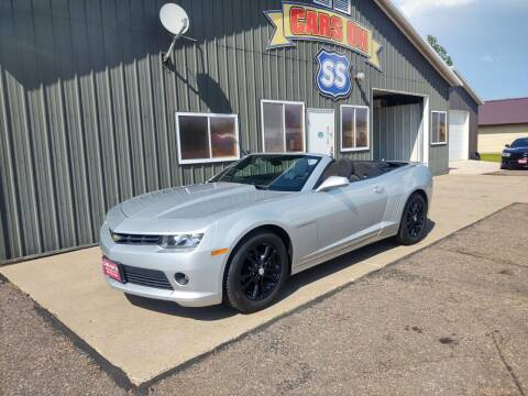 2015 Chevrolet Camaro for sale at CARS ON SS in Rice Lake WI