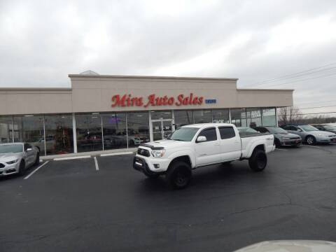 2015 Toyota Tacoma for sale at Mira Auto Sales in Dayton OH