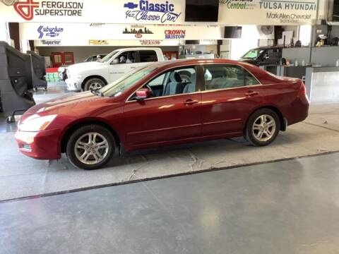 2006 Honda Accord for sale at C4 AUTO GROUP in Claremore OK