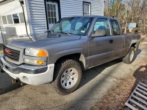 2006 GMC Sierra 1500 for sale at MX Motors LLC in Ashland MA