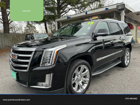 2015 Cadillac Escalade for sale at Premier Auto Brokers in Virginia Beach VA