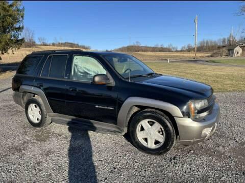 2002 Chevrolet TrailBlazer for sale at Arcia Services LLC in Chittenango NY