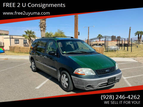 2001 Ford Windstar for sale at FREE 2 U Consignments in Yuma AZ