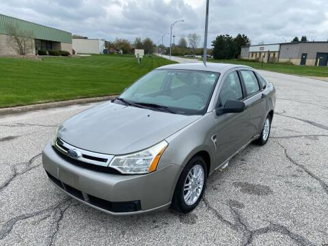 2008 Ford Focus for sale at JE Autoworks LLC in Willoughby OH