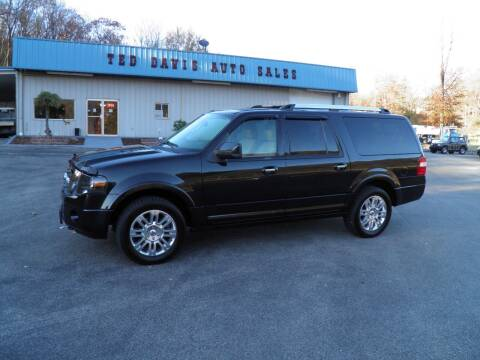 2012 Ford Expedition EL for sale at Ted Davis Auto Sales in Riverton WV