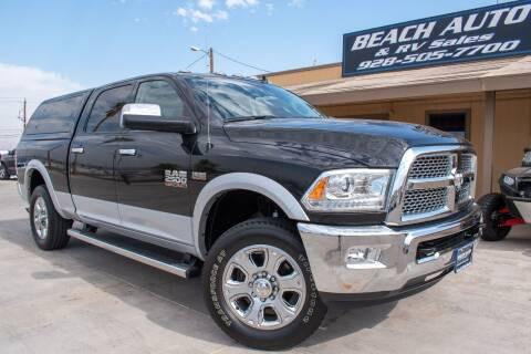 2017 RAM Ram Pickup 2500 for sale at Beach Auto and RV Sales in Lake Havasu City AZ