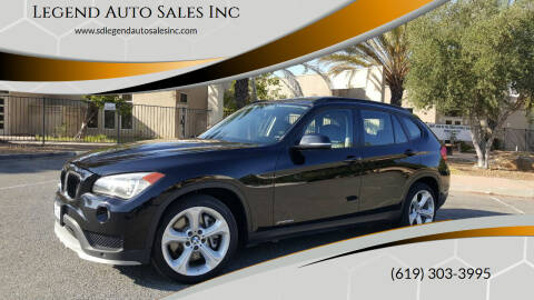 2015 BMW X1 for sale at Legend Auto Sales Inc in Lemon Grove CA