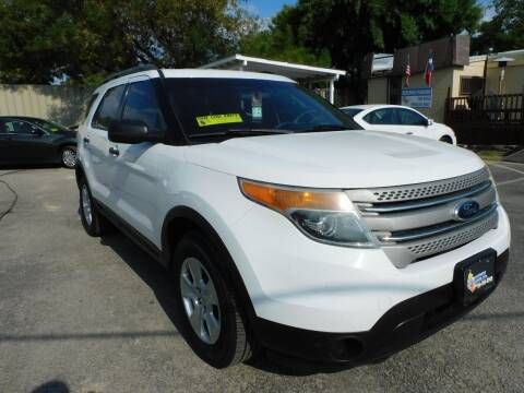 2013 Ford Explorer for sale at Midtown Motor Company in San Antonio TX
