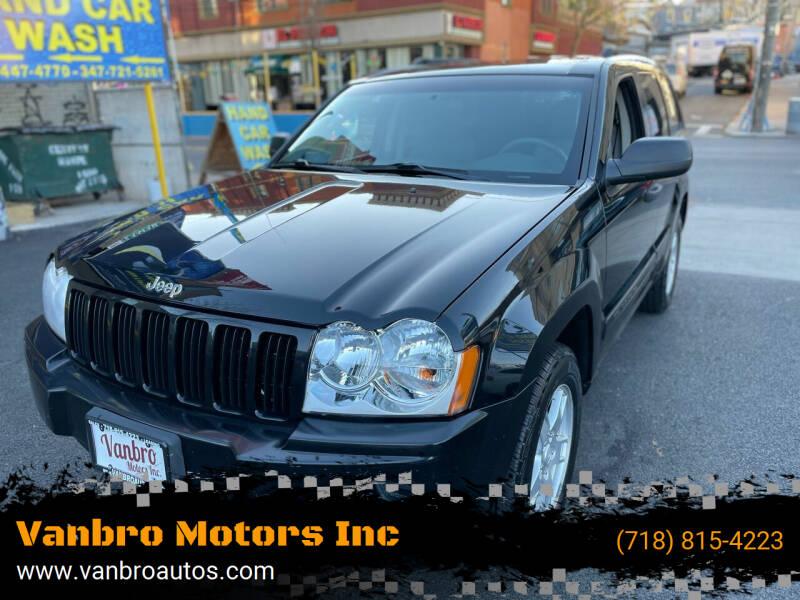 2005 Jeep Grand Cherokee for sale at Vanbro Motors Inc in Staten Island NY