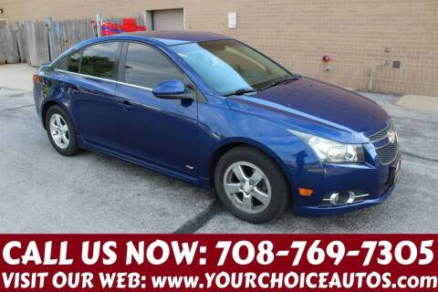 2012 Chevrolet Cruze for sale at Your Choice Autos in Posen IL