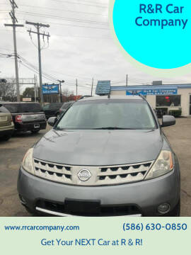 2007 Nissan Murano for sale at R&R Car Company in Mount Clemens MI