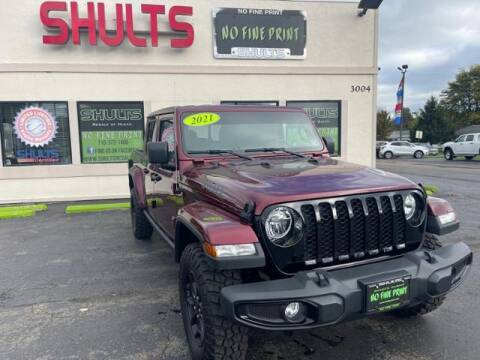 2021 Jeep Gladiator for sale at Shults Resale Center Olean in Olean NY