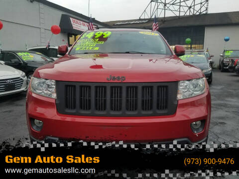 2011 Jeep Grand Cherokee for sale at Gem Auto Sales in Irvington NJ