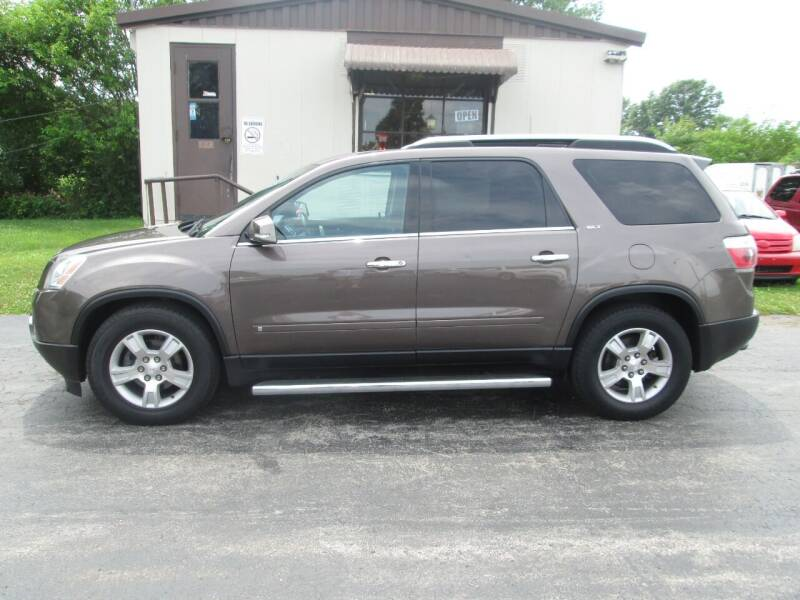 2009 GMC Acadia for sale at Knauff & Sons Motor Sales in New Vienna OH