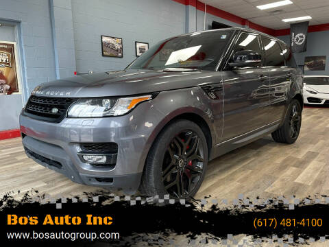 2014 Land Rover Range Rover Sport for sale at Bos Auto Inc in Quincy MA