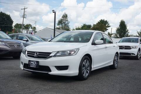 2015 Honda Accord for sale at HD Auto Sales Corp. in Reading PA