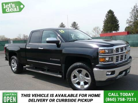 2015 Chevrolet Silverado 1500 for sale at Shamrock Motors in East Windsor CT